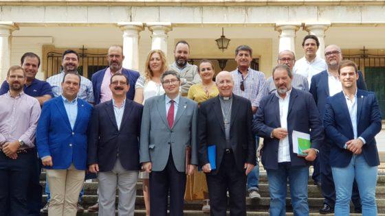 foto familia Comisión Encuentro Rociero
